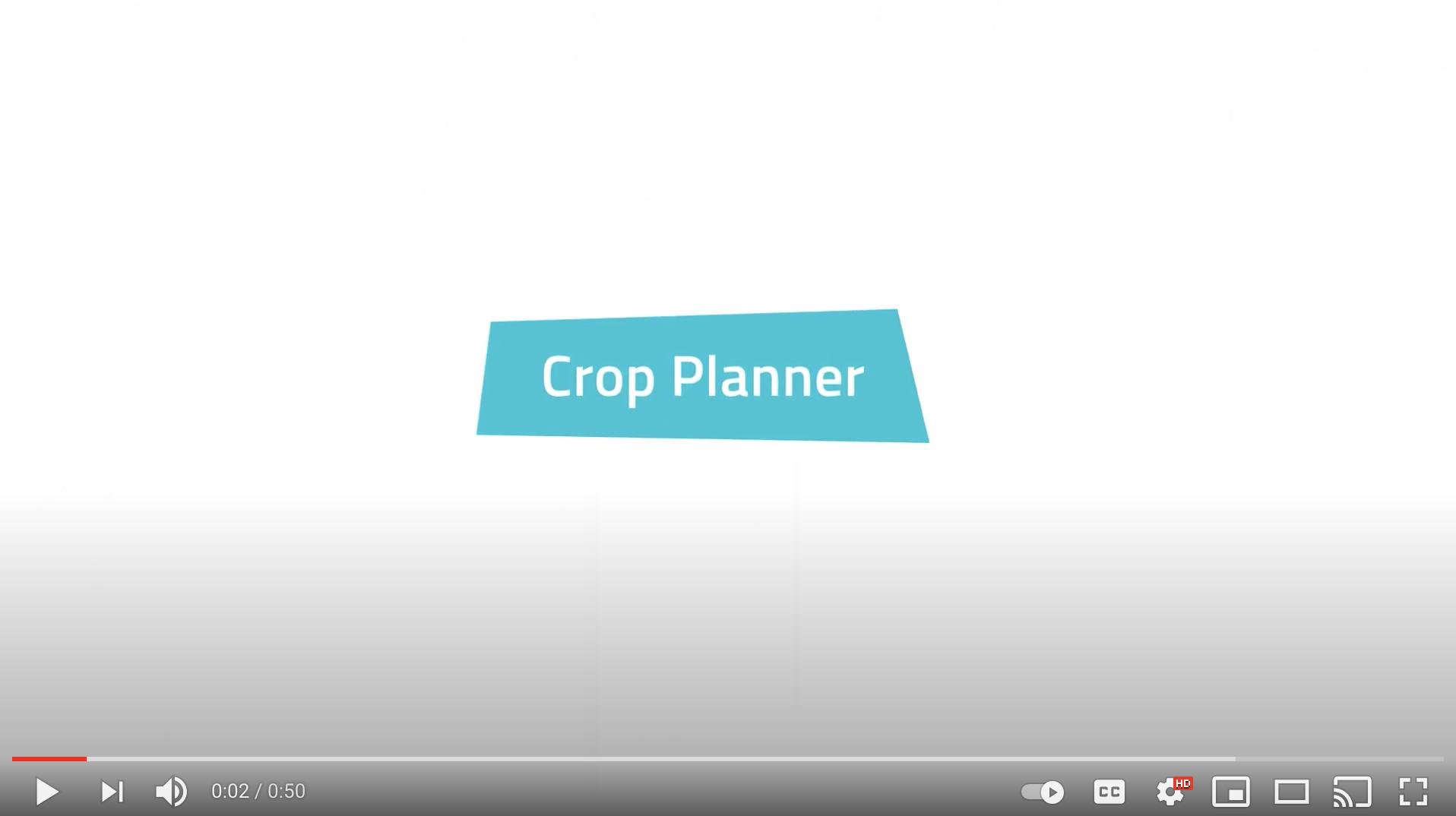 crop planner youtube screenshot